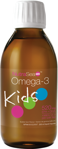 Ascenta | NutraSea Kids Vitamin Enhanced Omega 3 | Bubblegum