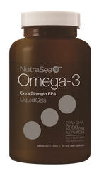 Ascenta NutraSea HP Omega 3  Extra Strength EPA Softgels | Omega 3 Fish Oil EPA / DHA | Ascenta