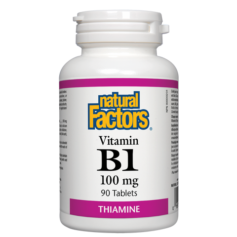 Natural Factors B-1 Thiamine 100mg 90 capsules