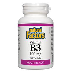 Natural Factors B3 100mg - Body Energy Club