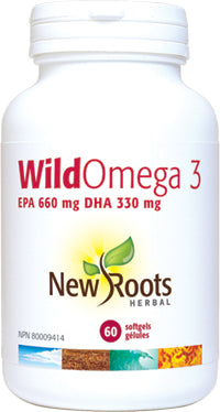 New Roots Wild Omega 3 Softgels - Body Energy Club