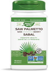Nature's Way Saw Palmetto Berry Capsules 180