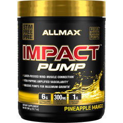 Allmax Impact Pump Stimulant Free 360 g - Body Energy Club