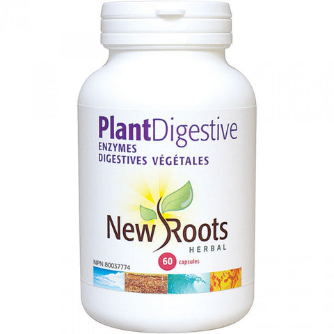 New Roots Plant Digestive Enzymes - Body Energy Club