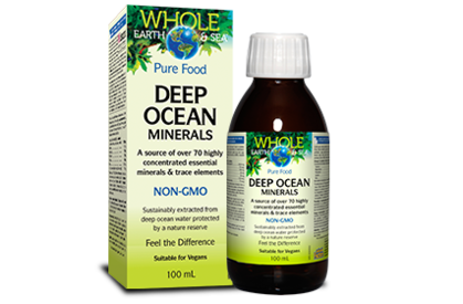 Whole Earth & Sea Deep Ocean Minerals - Body Energy Club
