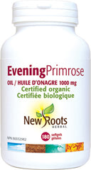 New Roots Evening Primrose Oil 1000mg 180 softgels