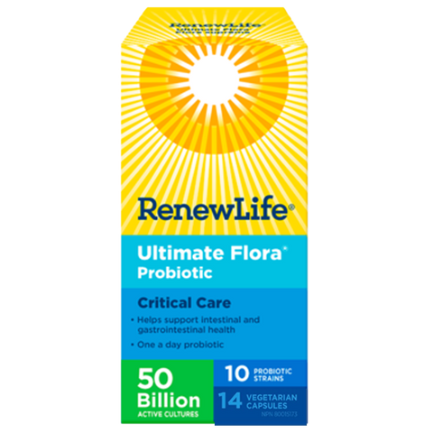 Renew Life Ultimate Flora 50 Billion Critical Care - Body Energy Club