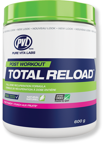 PVL Essentials Total Reload 600g | Post-Workout Recovery | PVL