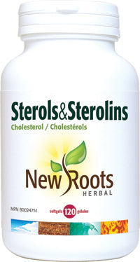 New Roots Sterols & Sterolins | Cholesterol Support | New Roots