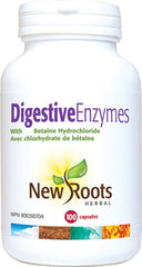 New Roots Digestive Enzymes 100 Capsules
