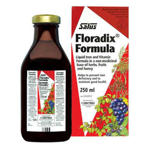 Salus Floradix Formula Liquid Iron + Vitamins 250ml