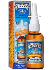 Sovereign Silver Nasal Mist 59ml | Immune Support | Sovereign Silver