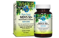 Whole Earth & Sea Men's 50+ Multivitamin - Body Energy Club