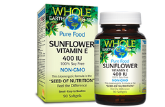 Whole Sea & Earth Pure Food Sunflower Vitamin E - Body Energy Club