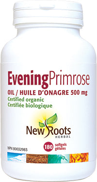 New Roots Evening Primrose Oil 500mg 180 softgels