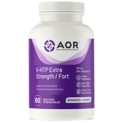 AOR 5-HTP Extra Strength 100mg 69 Veggie Caps