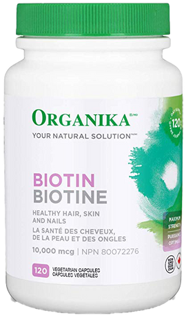 Organika Biotin 10,000mcg - Body Energy Club