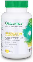 Organika Quercetin with Bromelain 500mg | Allergies | Organika