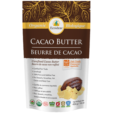 Ecoideas Organic Cacao Butter - Body Energy Club