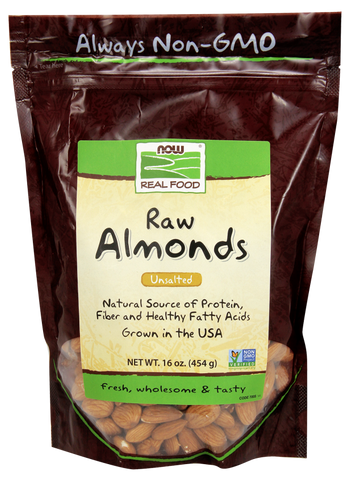 NOW Raw Almonds