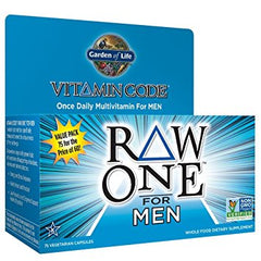 Garden Of Life Vitamin Code RAW One for Men Multi 75 VCAPS - Body Energy Club