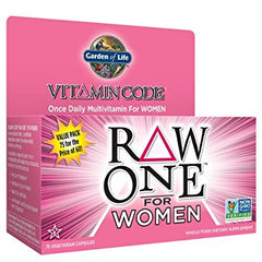 Garden Of Life Vitamin Code RAW One for Women Multi 75 VCAP
