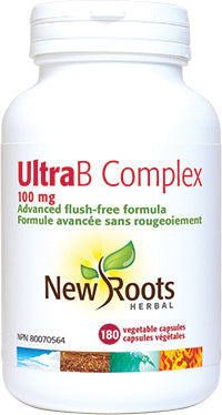 New Roots Ultra B Complex 100mg Capsules - Body Energy Club