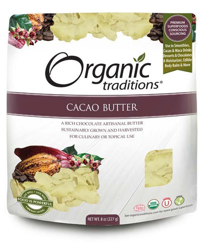 Organic Traditions Cacao Butter | Whole Foods | Organic Traditions