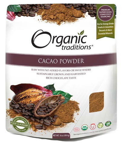 Organic Traditions Cacao Powder | Whole Foods | Organic Traditions