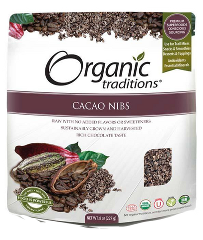 Organic Traditions Cacao Nibs | Whole Foods | Organic Traditions