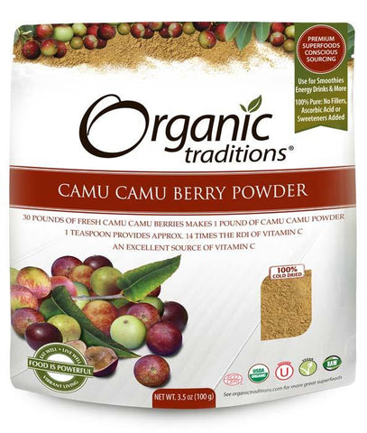 Organic Traditions Camu Camu Berry Powder 100g