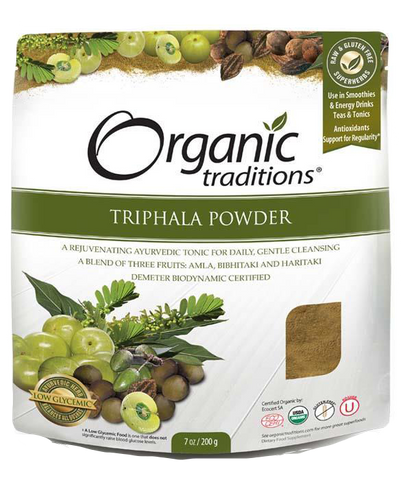 Organic Traditions Triphala Powder - Body Energy Club