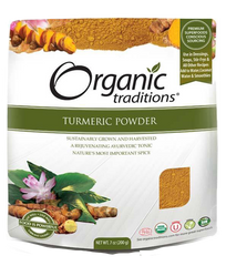 Organic Traditions Turmeric Powder | Inflammation | Organic Traditions