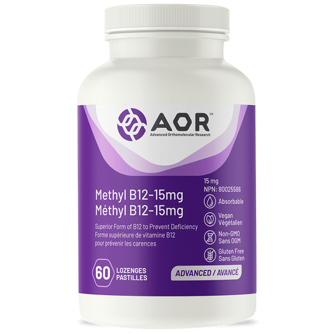 AOR Methyl B12 – 15 mg | Vitamin B | AOR