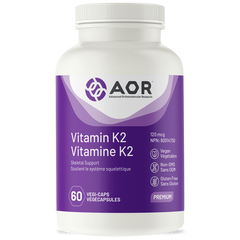AOR Vitamin K2 120mg 60 veggie caps