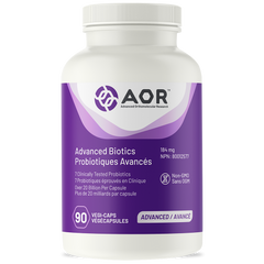 AOR Advanced Biotics 184mg | Probiotics | AOR
