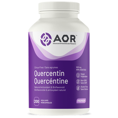 AOR Quercetin 500mg 200 softgels