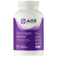 AOR Zinc Copper Balance 17mg | Eye & Vision Care | AOR