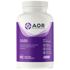 AOR GABA 600mg | Brain & Cognitive Function | AOR