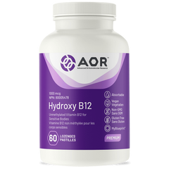 AOR Hydroxy B12 1000mcg 60 lozenges