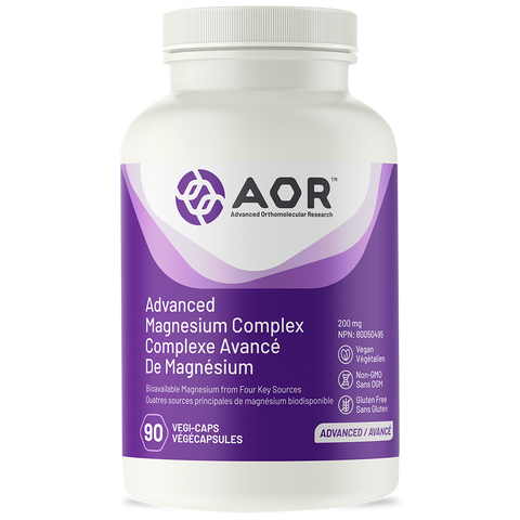 AOR Advanced Magnesium Complex 200mg 90 Veggie Capsules