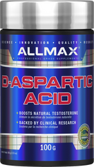 Allmax D-Aspartic Acid Powder - Body Energy Club