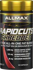 Allmax RapidCuts Shredded | Fat Burners | Allmax