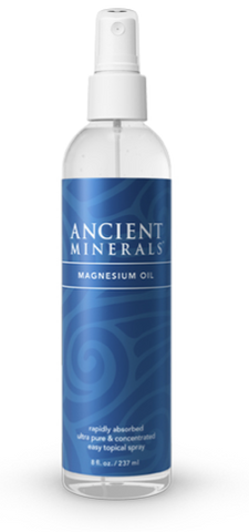 Ancient Minerals Magnesium Oil Spray | Calcium & Magnesium | Ancient Minerals