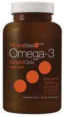 Ascenta NutraSea DHA 2x Concentrated (Fresh Mint) | Omega 3 Fish Oil EPA / DHA | Ascenta