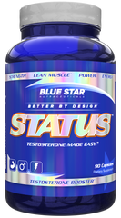 Blue Star Status 120 cap test booster testosterone power strength muscle ashwaghanda k 66