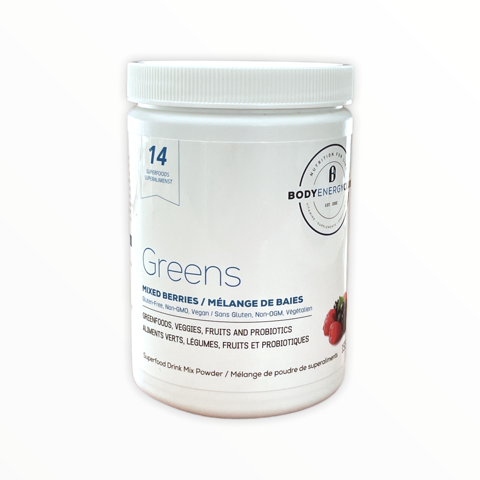 Body Energy Club Vegan Greens 155g