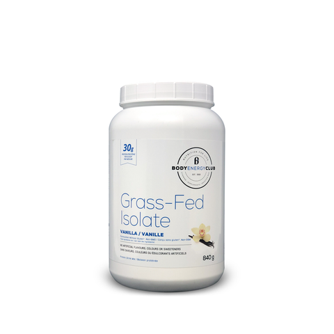 Body Energy Club Grass Fed Isolate 840g