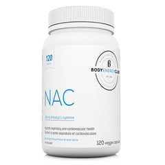 Body Energy Club NAC 120 Veggie Capsules | Antioxidants | Body Energy Club