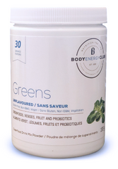 Body Energy Club Vegan Unflavoured Greens 155g - Body Energy Club